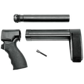 SB Tactical Pistol Stabilizing Braces for Remington Tac-14 SBL Kit - Black w/ SB Logo