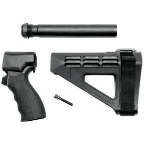 SB Tactical Pistol Stabilizing Braces for Mossberg 590 SBM4 Kit - Black w/ SB Logo