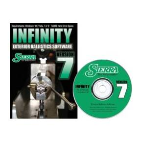 Sierra INFINITY Exterior Ballistic Computer Software version 7 (CD-ROM)
