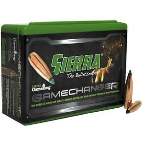 "Sierra Game Changer Tipped Sierra GameKing Bullets 7mm .284"" 165 gr PT-HP 50/ct"