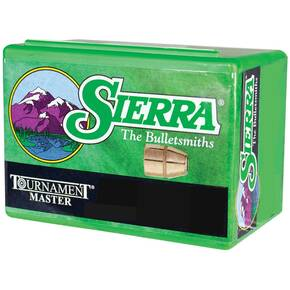 "Sierra Tournament Master Handgun Bullets .38 cal .357"" 170 gr FMJ MATCH 100/ct"