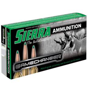 Sierra Rifle Game Changer Ammunition 7mm Rem Mag 150 gr TGK 20/ct