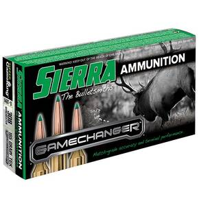 Sierra GameChanger Rifle Ammunition  .308 Win 165 gr TGK 2680 fps 20/ct