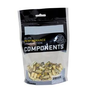 Sig Sauer Unprimed Brass Handgun Cartridge Cases 9mm Luger 100/ct