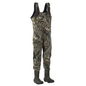 Mad Dog Brighton Neoprene Bootfoot Chest Wader - Mossy Oak Break-Up Size 8