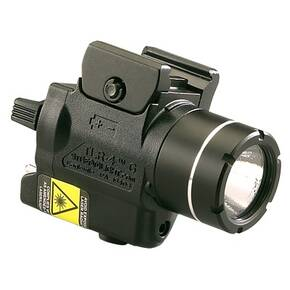 Streamlight TLR-4 G Compact Rail Mounted Tactical Light with Integrated Green Aiming Laser
