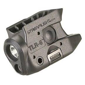 Streamlight TLR-6 Subcompact Tactical Light with Integrated Red Aiming Laser 2 CR1/3N Batteries KAHR