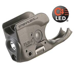 Streamlight TLR-6 Tactical Light with Red Laser for Non-Rail 1911 Firearms