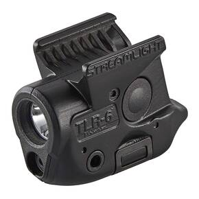 Streamlight TLR-6 Rail-Mounted Tactical Light with Integrated Red Aiming Laser - Sig Sauer P365