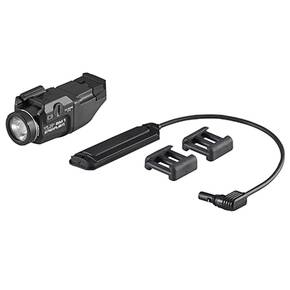 Streamlight TLR RM 1 Rail Mounted Tactical Lighting System Push Button Switch Key Kit and Battery - Black