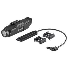 Streamlight TLR RM 2 Rail Mounted Tactical Lighting System Push Button Switch Key Kit and Battery - Black