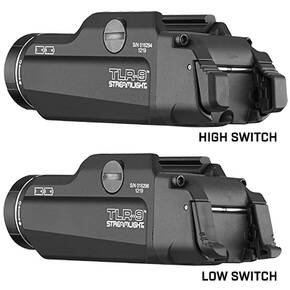 Streamlight TLR-9 Gun Light with Ambidextrous Switch Options