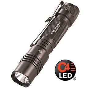 Streamlight ProTac 2L-X High Performance Tactical Light -  Dual Fuel Includes 2 CR123A lithium batteries & Holster Clam Black