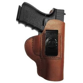 Regular Soft Style Holster FITS Kahr P40. Black / Right Hand