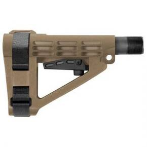 SB Tactical SBA4 Pistol Stabilizing Brace for AR-15-FDE