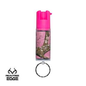 Sabre Pepper Spray Pink Camo Key Ring