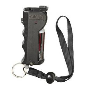 Sabre Stop Strap Maximum Strength Pepper Spray - Black 0.54 oz