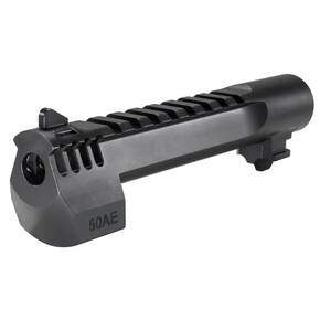 .50AE 6-Inch Barrel Black with Integral Muzzle Break