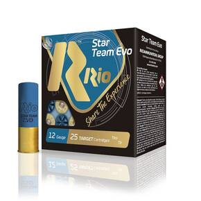"Rio Star Team 12 ga 2 3/4"" MAX 1 1/8 oz #8 1300 fps - 25/box"