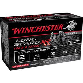 Winchester Long Beard XR Shotshells 12ga 2-3/4 1-1/4 oz  1300 fps #5 10/ct
