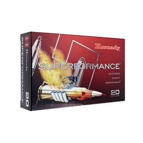 Hornady Superformance Rifle Ammunition .30-06 Sprg 180 gr GMX 2820 fps 20/ct