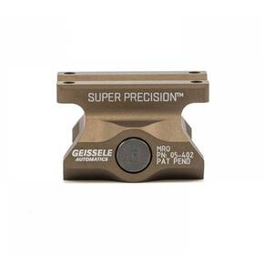 Geissele Automatics Super Precision Mount Fits Trijicon MRO Absolute Co-Witness Desert Dirt Color 05-402S