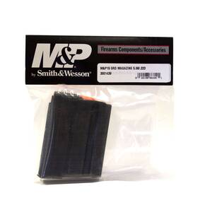 Smith & Wesson M&P15 Magazine .223 Black Steel 5/rd
