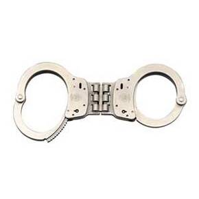 Smith & Wesson Handcuffs - Hinged Nickel Standard