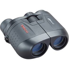 Tasco Essentials Porro Binoculars 8-24x25mm Black MC Zoom Box 6L