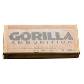 Gorilla Target Rifle Ammunition 6.5 Creedmoor 142 gr BTHP 2600 fps 20/ct