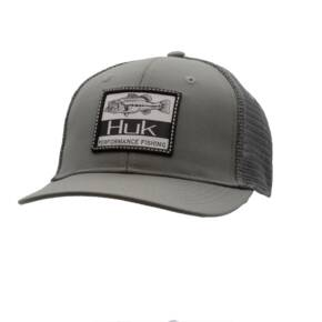 Huk Lunker Patch Trucker Cap