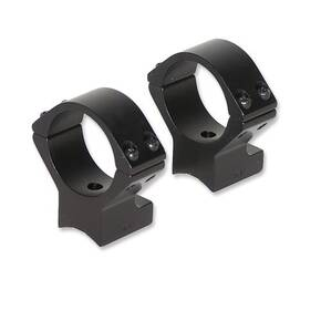 Talley Lightweight Alloy Scope Mounts - Black Anodized - 30mm - Medium, Weatherby Vanguard