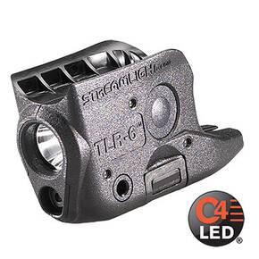 Streamlight TLR-6 Subcompact Gun-Mounted Tactical Light with Integrated Red Aiming Laser