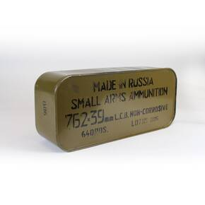 TulAmmo Rifle Ammunition 7.62mm X 39 122 gr FMJ 640/Case