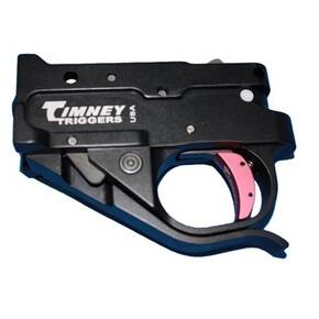 Timney Ruger 10/22 Trigger Black Housing / Red Shoe Kit