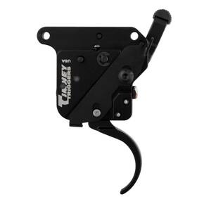 Timney Triggers Remington 700 Trigger with Safety Right Hand, Standard Curved, Black **3 LB**