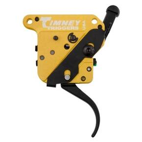 Timney Triggers Calvin Elite Custom Trigger For Remington 700, Curved, Right Hand, Black **8 OZ**