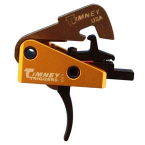 Timney Triggers AR-10 Competition Trigger - Curved Small Pin