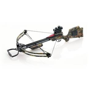 TenPoint Slider Crossbow Package with Peep and Pin Sight System and ACUdraw - Mossy Oak Break-Up