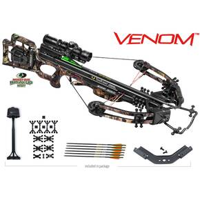 Tenpoint Venom Crossbow Package with AcuDraw 50 & RangeMaster Pro Scope - Mossy Oak Breakup Infinity