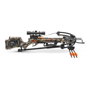 Wicked Ridge Invader G3 Crossbow Package with ACU-52 & 3X Multi-Line Scope - Mossy Oak Treestand