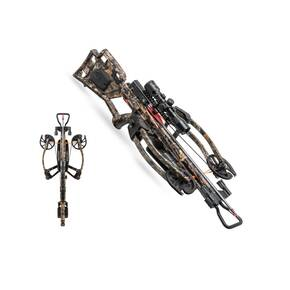 Wicked Ridge Crossbow RDX 400 Crossbow Package 3X Multi-Line Scope Rope-Sled - Camo