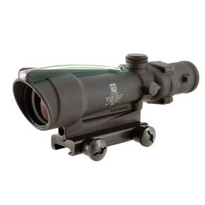 Trijicon ACOG Rifle Scope - 3.5x35mm DI Green Chevron .308 Reticle TA51 Mount