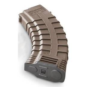 Tapco AK-74 Magazine 5.45x39mm Double Stack Composite Dark Earth 30/rd