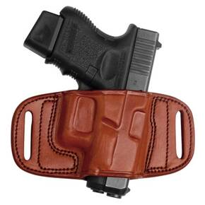 Tagua Gunleather Quick Draw Belt Holster for Glock 17/22/31/37 Black Left Hand