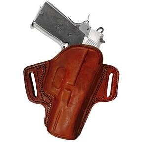 Tagua Gunleather Open Top Belt Holster for Glock 17/22/31/37 Brown Right Hand