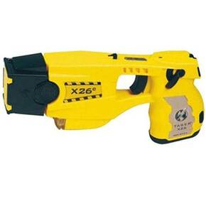 Taser X26C w/Laser Light and 6 Cartridges - Yellow