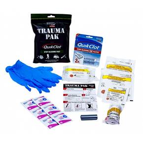 Ready Brands Adventure Medical Kits - Trauma Pak w/ QuikClot