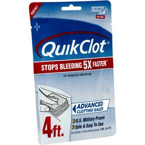 "Adventure Medical Kits QuikClot Gauze - 3""x 4'"