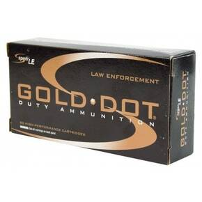 Speer Gold Dot Handgun Ammunition .40 S&W 165 gr HP 1150 fps 50/ct
